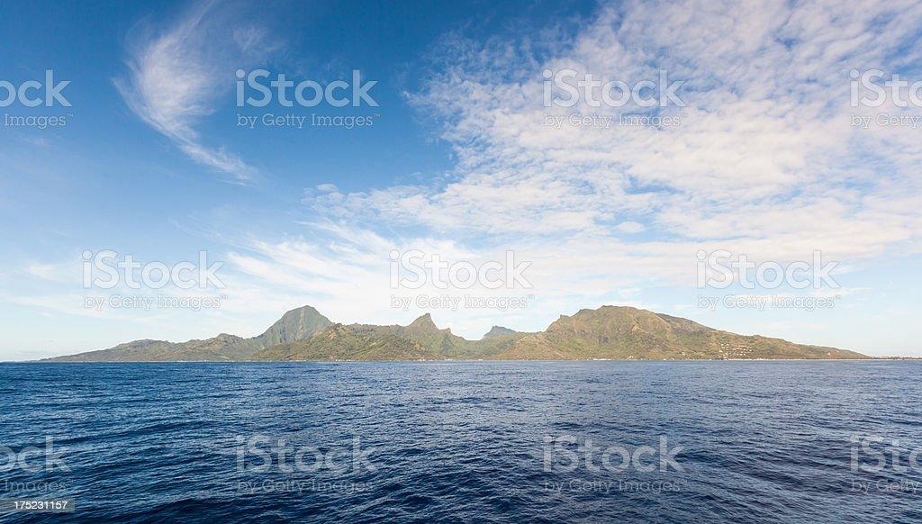 The Island of Moorea royalty-free stock photo