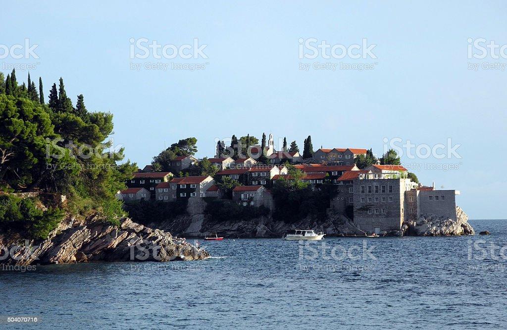 The island of St. Stephen. stock photo