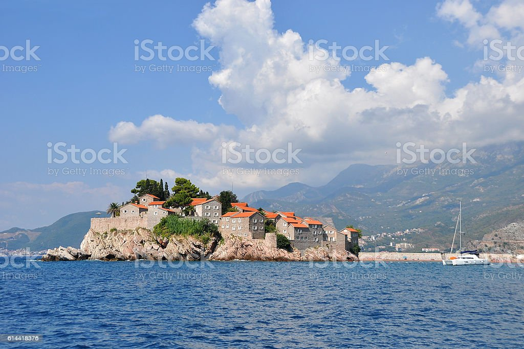 The island of St. Stephen stock photo
