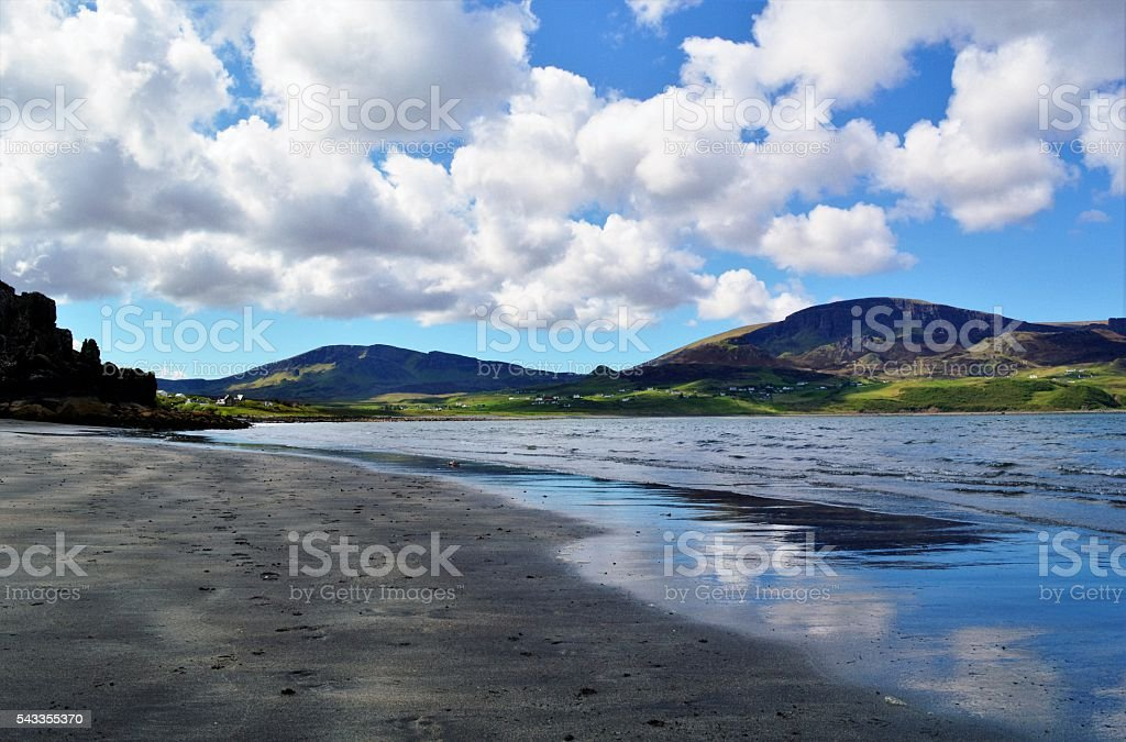 The Isle of Skye. stock photo