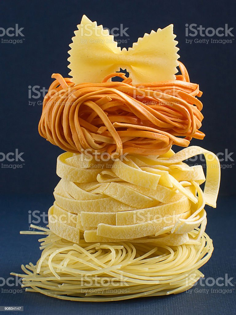 The Italian Pasta I royalty-free stock photo