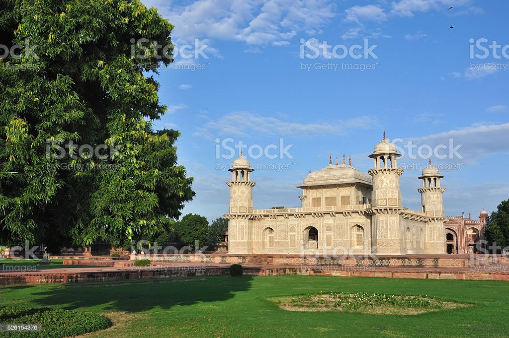 The Itmad-Ud-Daulah's Tomb at Agra stock photo