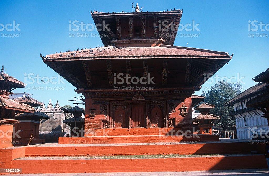 The Jagannath Temple stock photo