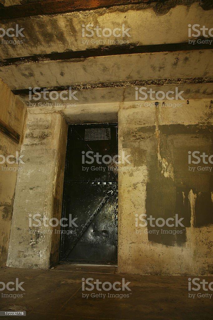 The Jail Door. royalty-free stock photo
