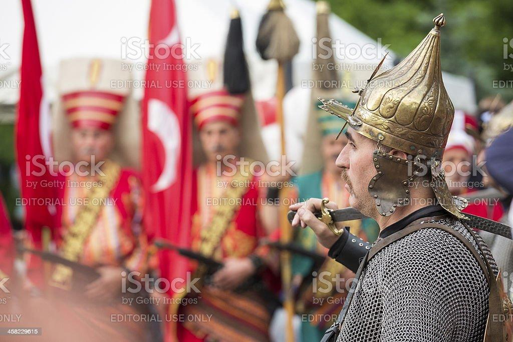 The Janissary royalty-free stock photo