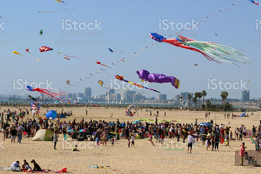 The Japan American Kite festival royalty-free stock photo