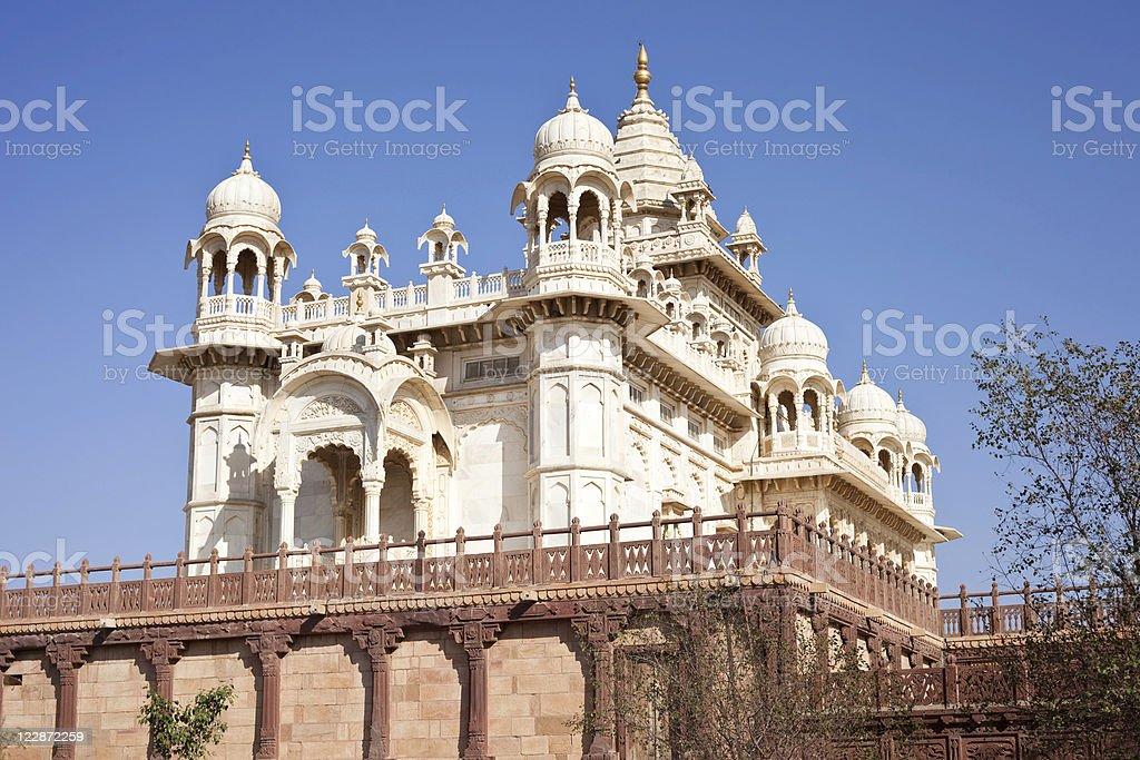 The Jaswant Thada In Jodhpur, India stock photo