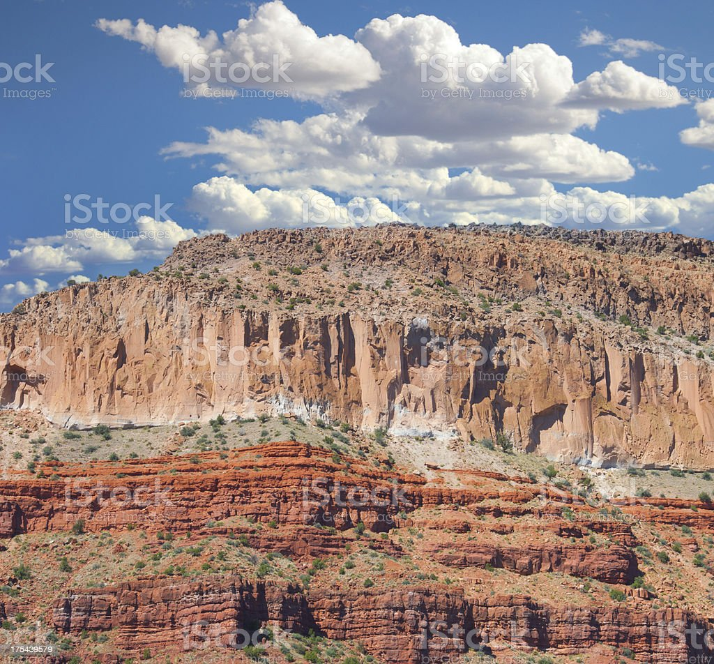 The Jemez Mountains are a Volcanic Group, New Mexico stock photo