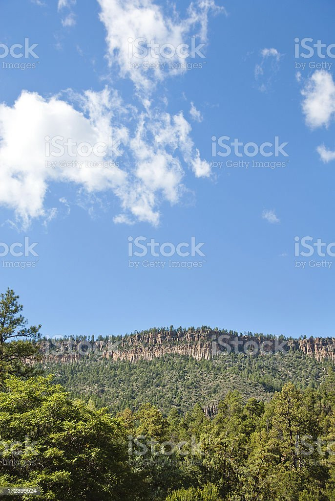 The Jemez Mountains Volcanic Group, New Mexico stock photo