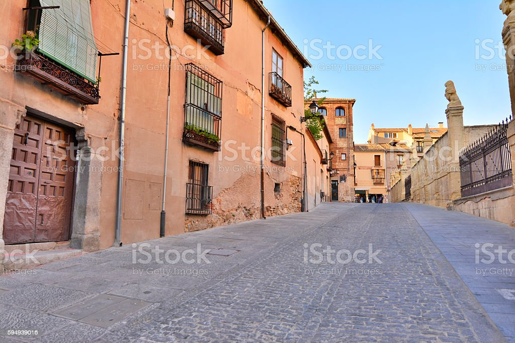 The Jewish Quarter (Segovia - Spain) stock photo