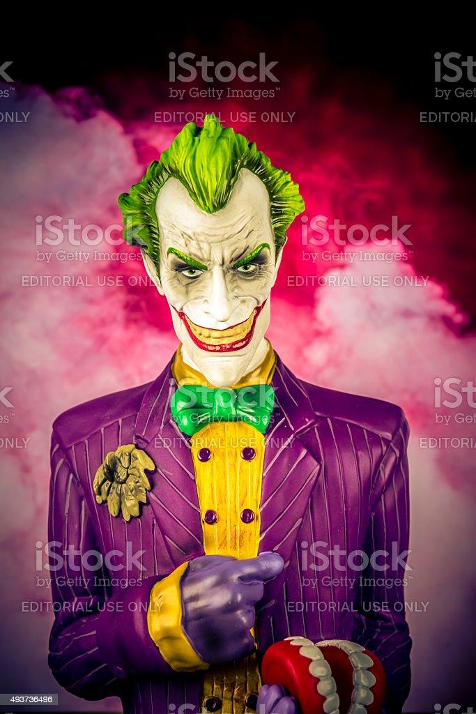 The Joker stock photo