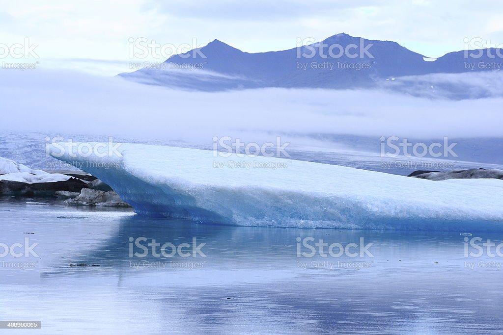 The Jokulsarlon lake royalty-free stock photo