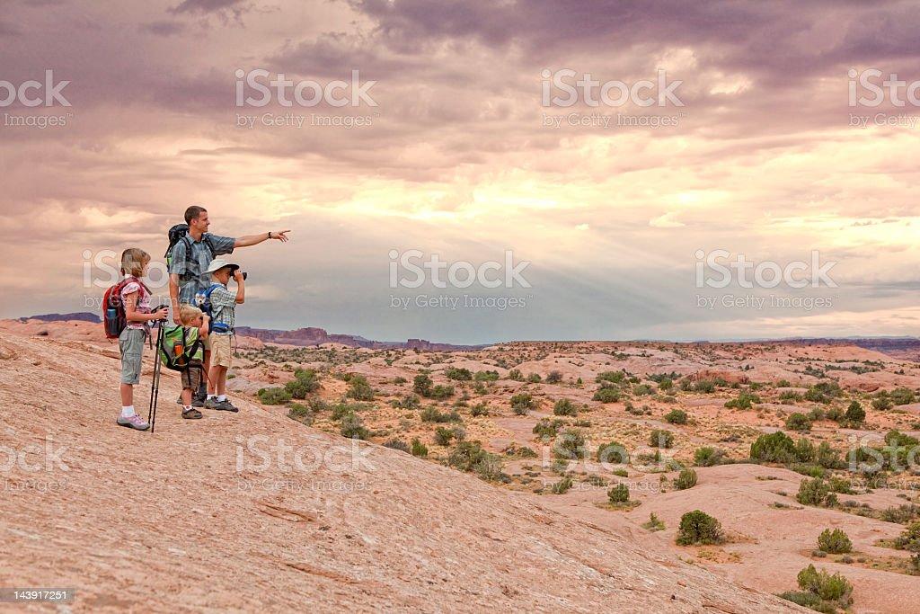 The Journey Ahead stock photo