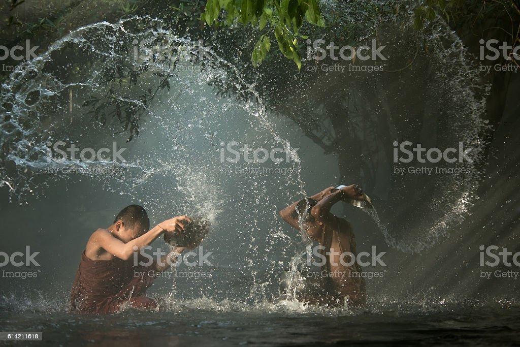 The joy of a novice stock photo
