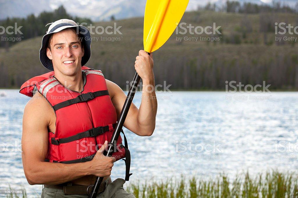 The joy of boating royalty-free stock photo