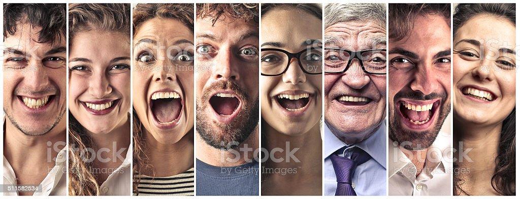 The Joy of People stock photo
