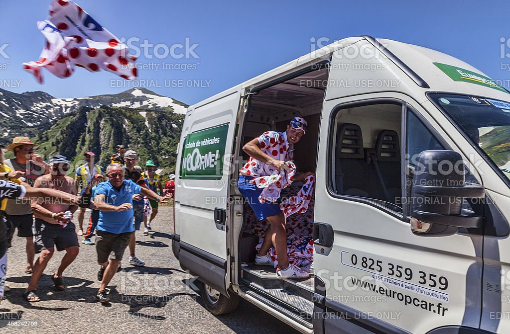 The Joy of Publicity Caravan royalty-free stock photo