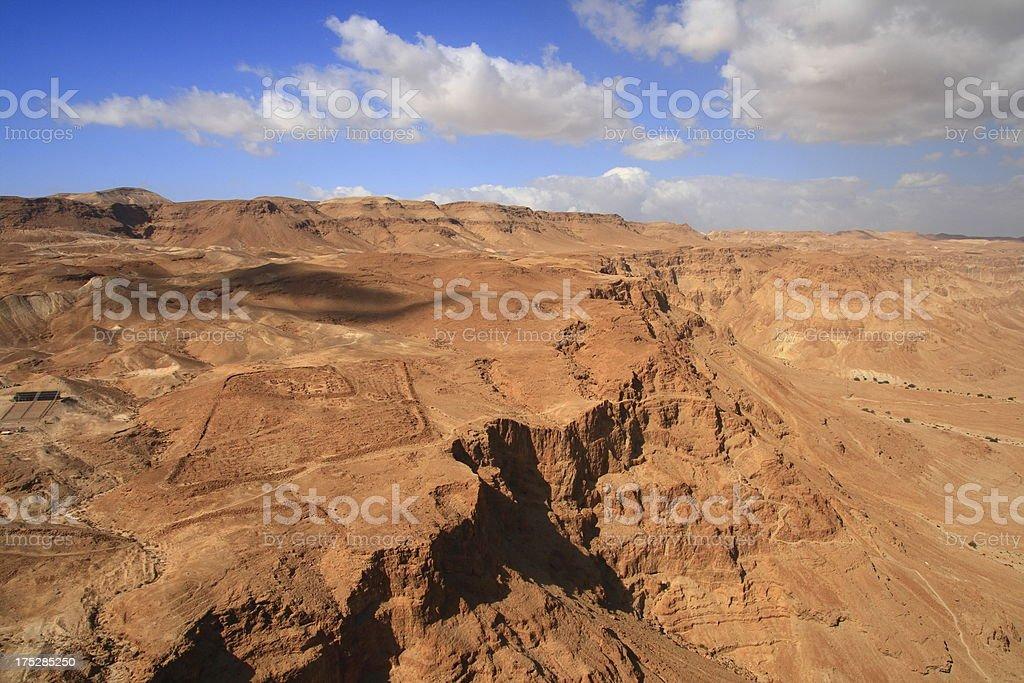 The Judean Desert stock photo