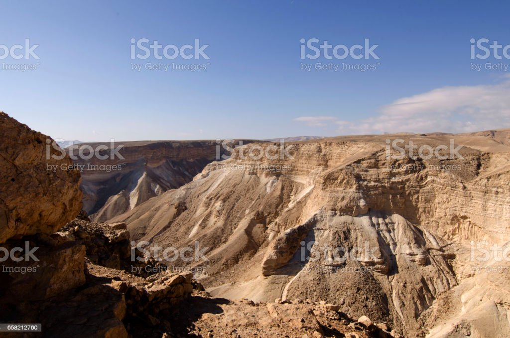 El desierto de Judea stock photo