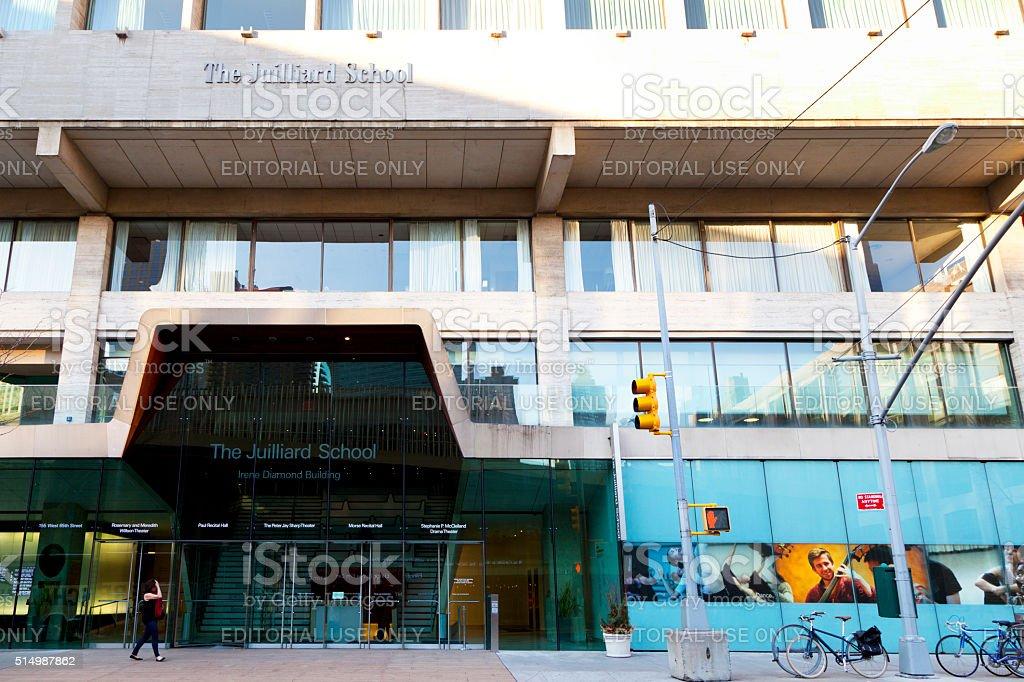 The Juilliard School stock photo