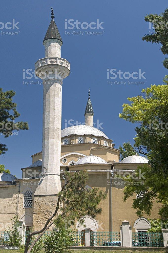 The Juma-Jami Mosque - Crimea stock photo