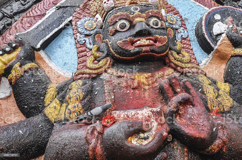 The Kali Goddess stock photo