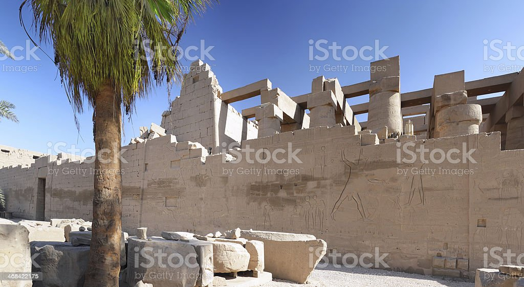 The Karnak Temple Complex, Luxor stock photo