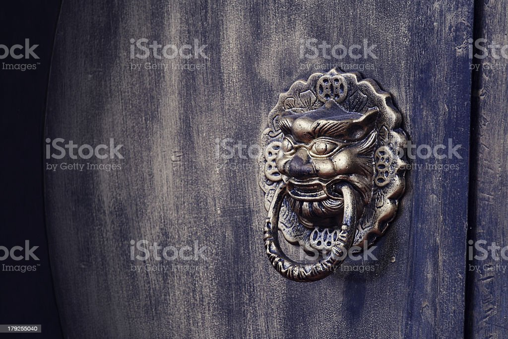 The Keeper royalty-free stock photo