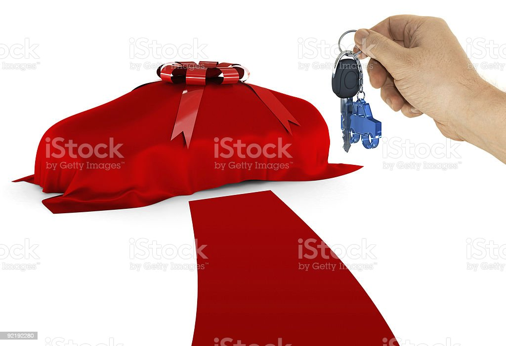 The key of your dream car royalty-free stock photo
