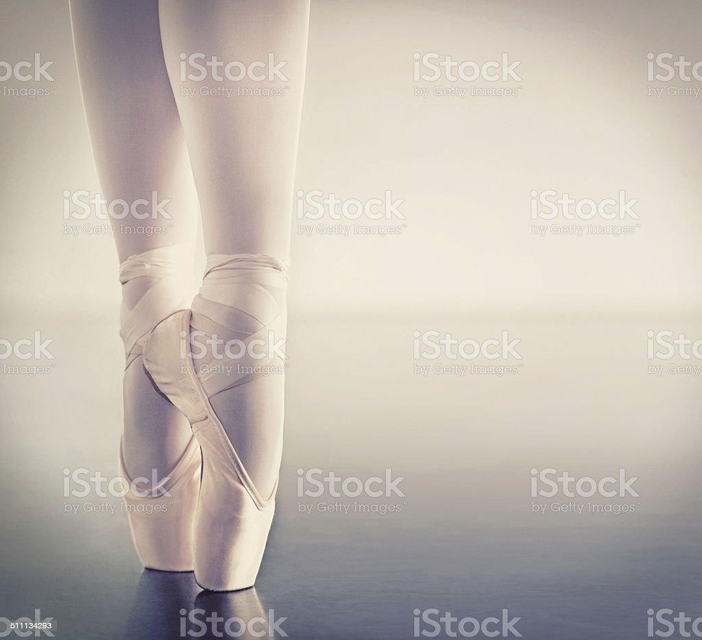 The key to ballet stock photo