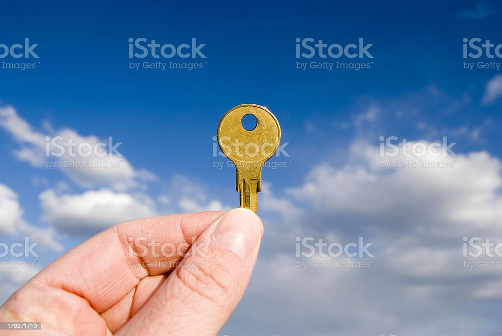 The Key to Success stock photo