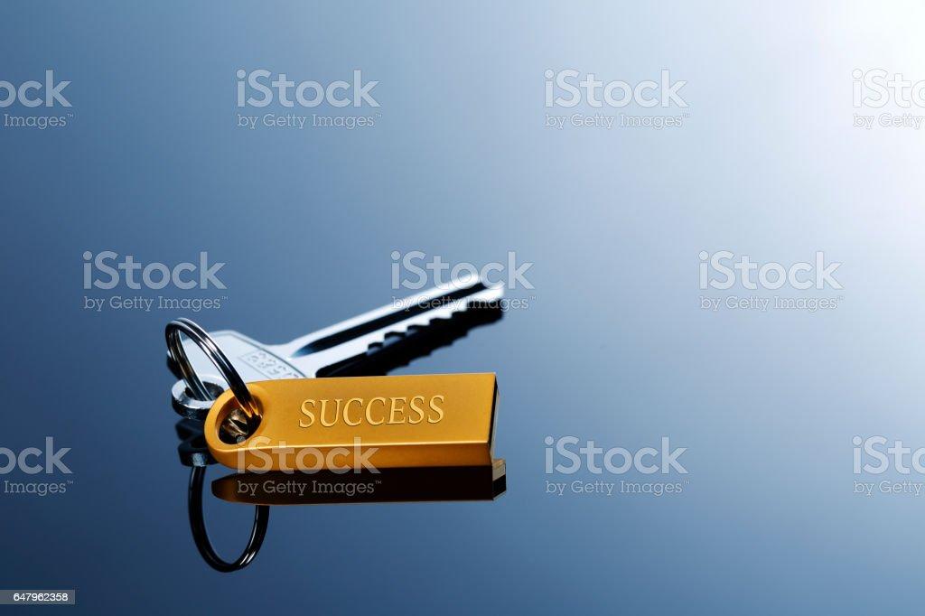 The keys of success stock photo