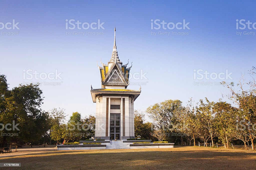 The Killing Fields of Choeung Ek in Phnom Penh, Cambodia stock photo
