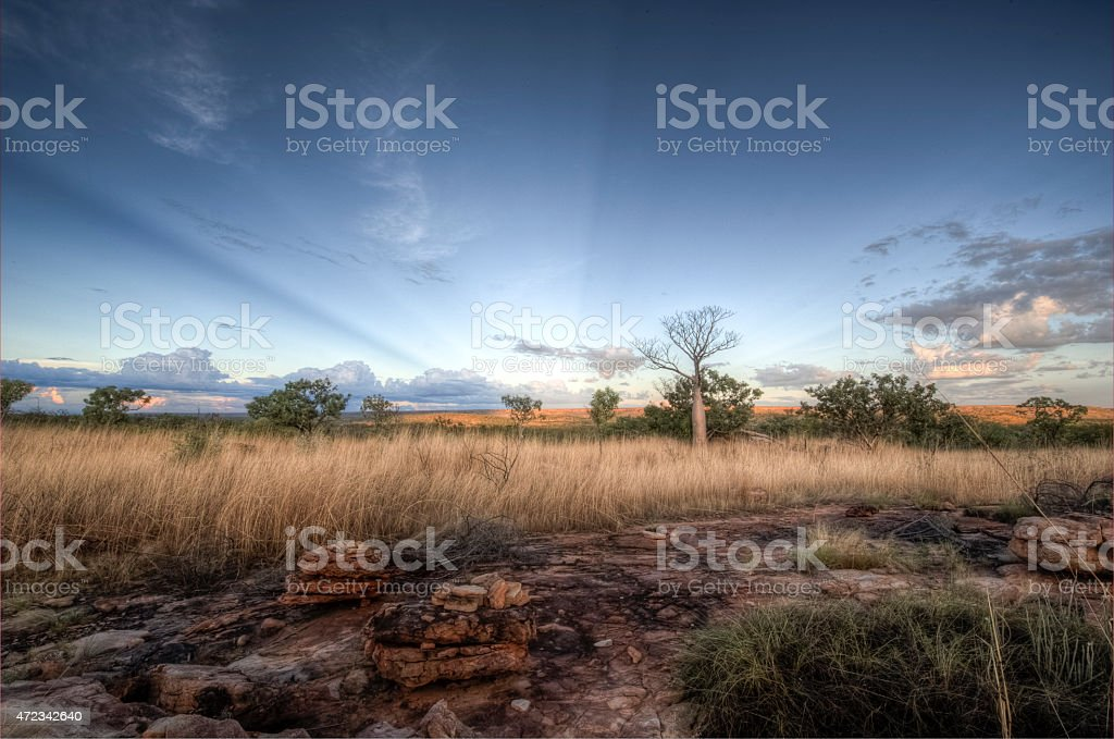 The Kimberley Plains stock photo