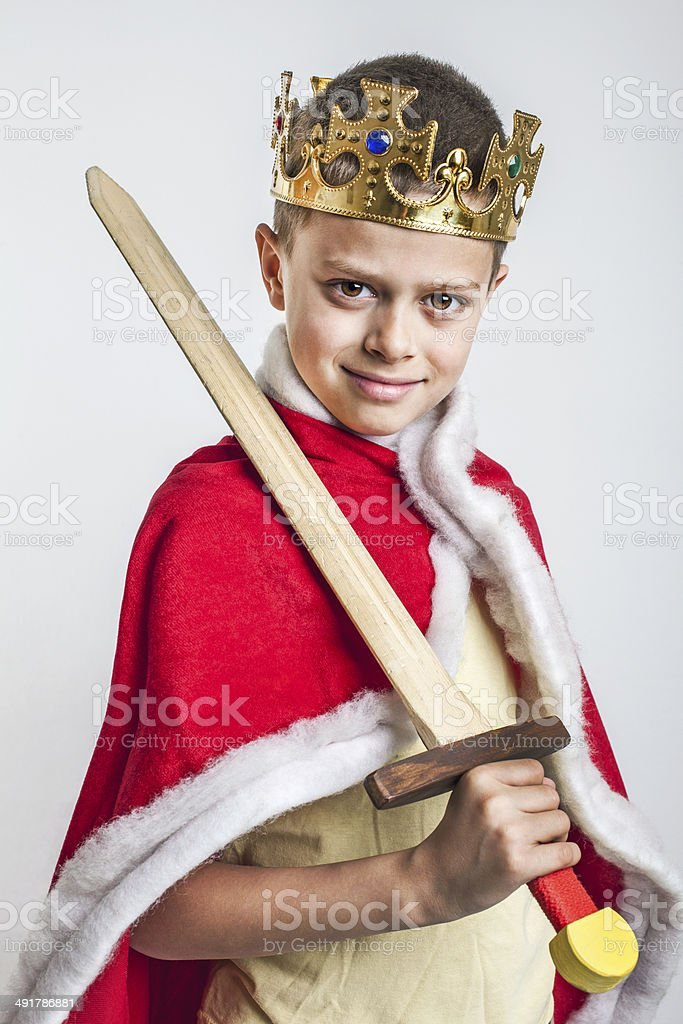 The King royalty-free stock photo