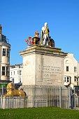 The Kings statue, Weymouth.