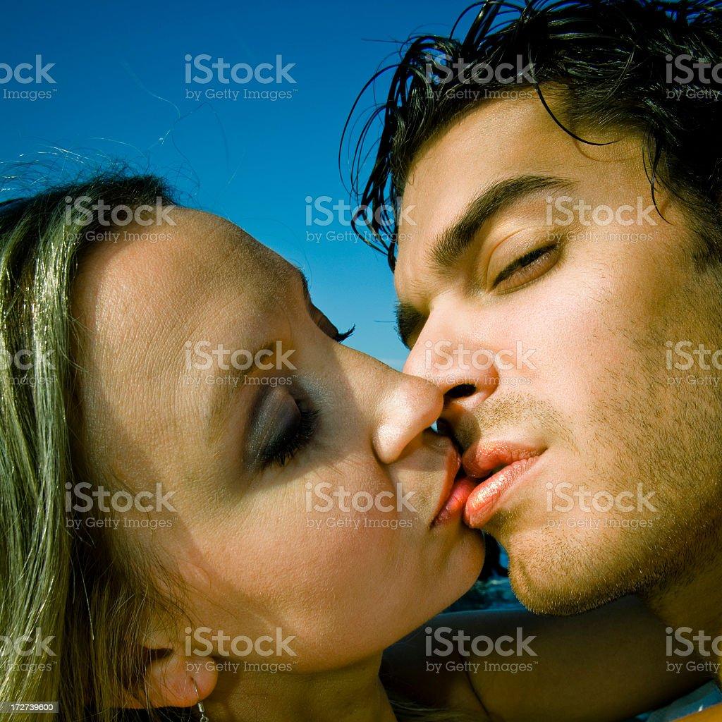 The Kiss stock photo