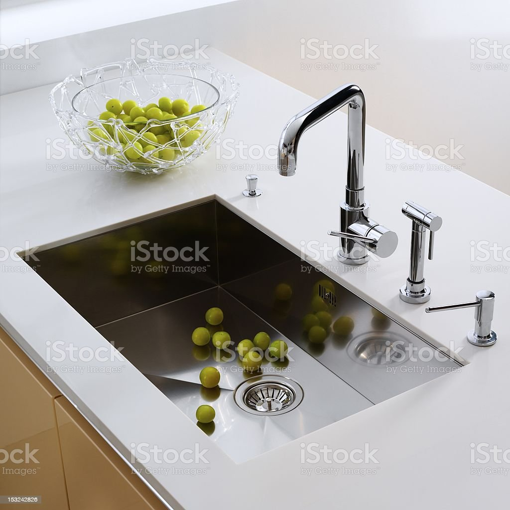 the kitchen sink stock photo