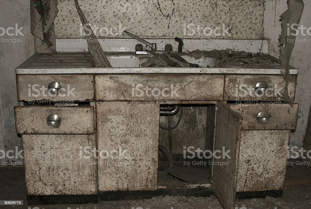 The Kitchen Sink royalty-free stock photo
