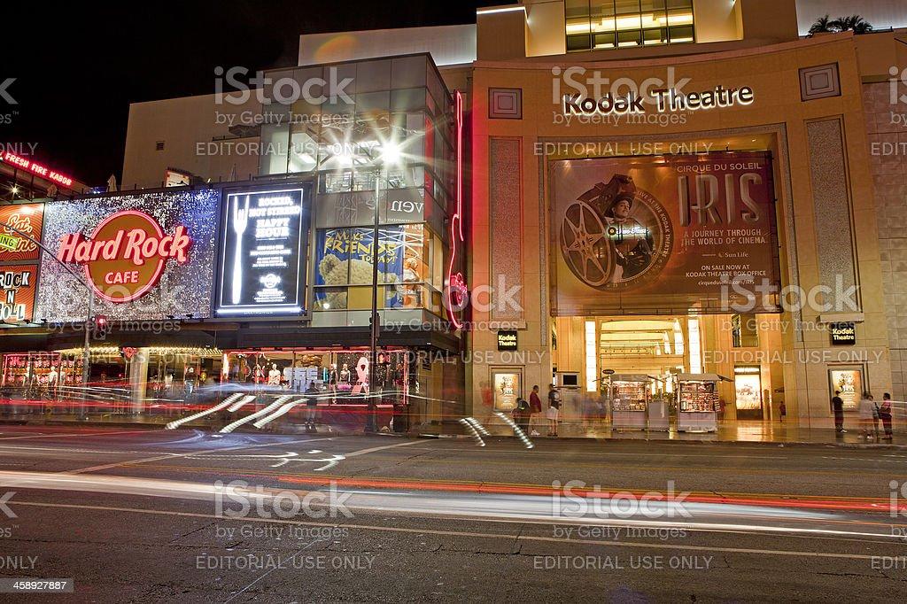 The Kodak Theatre Hollywood stock photo