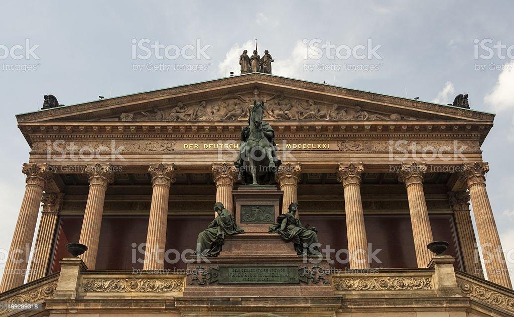 The Konzerthaus in Berlin stock photo