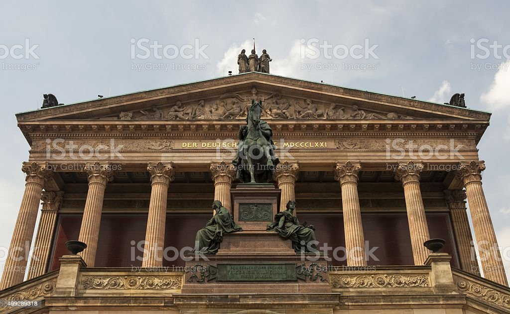 The Konzerthaus in Berlin stock photo