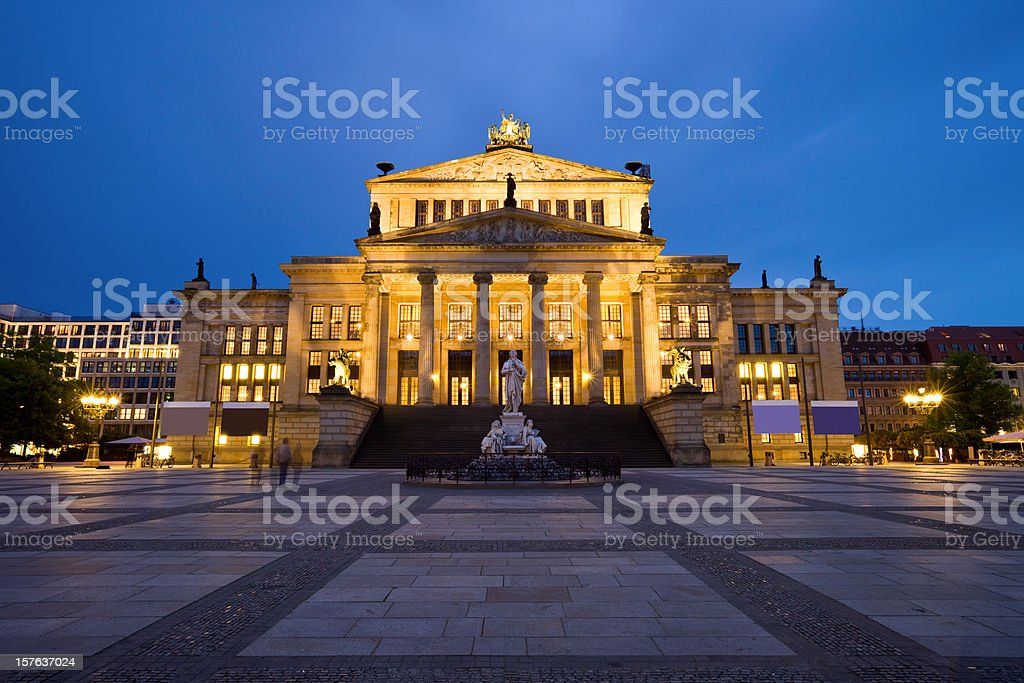 The Konzerthaus in Berlin, Schauspielhaus royalty-free stock photo