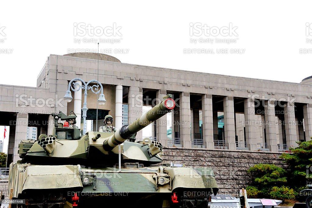 The Korean War Memorial Museum stock photo