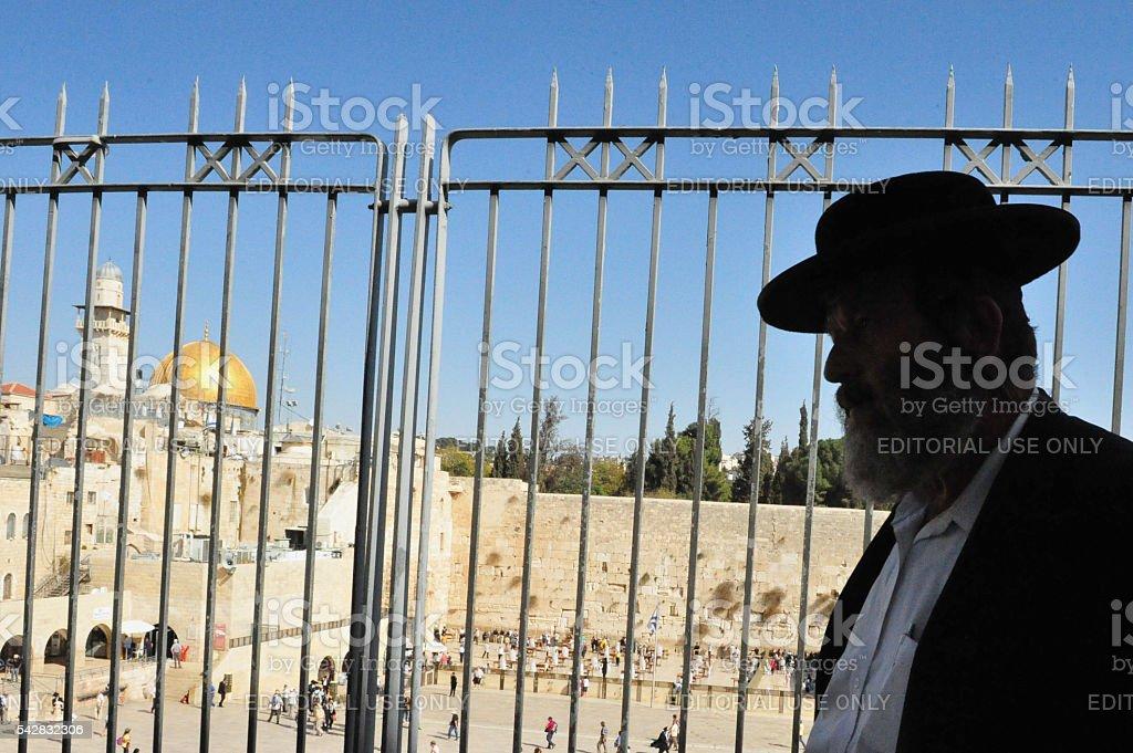 The Kotel - Israel stock photo