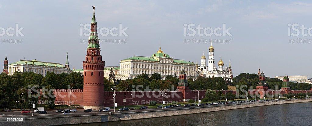 The Kremlin, Moscow - panorama royalty-free stock photo