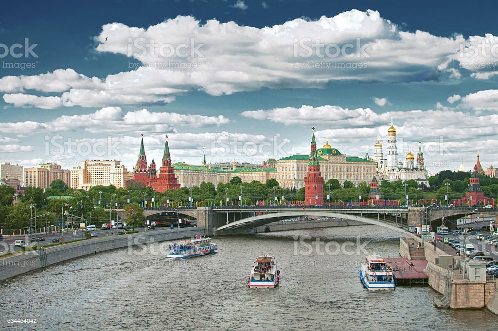 The Kremlin, Moscow, Russia stock photo