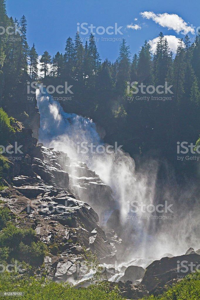 The Krimml Waterfalls stock photo