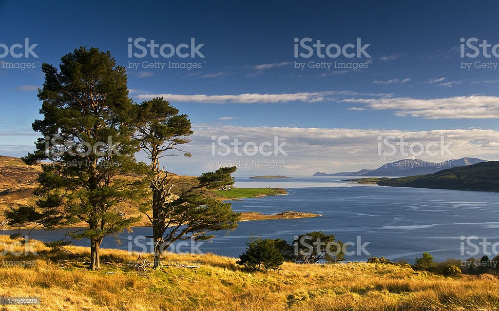 The Kyles of Bute stock photo