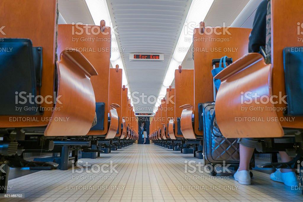 The Kyoshu Shinkansen stock photo
